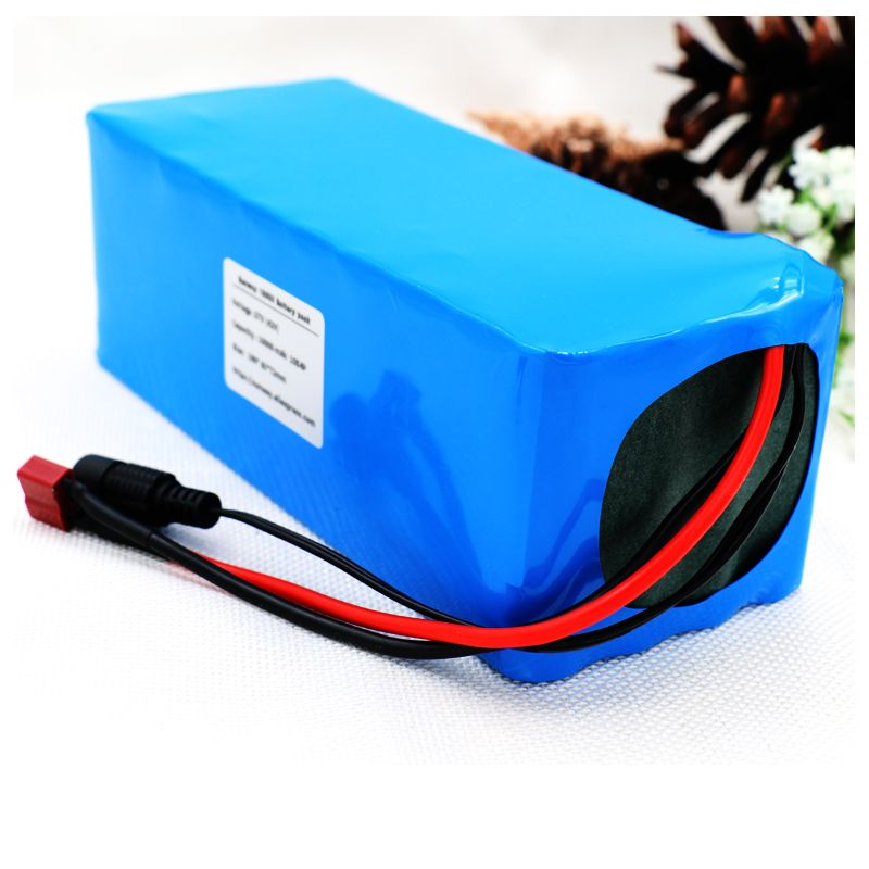 Cros 36V 10000mah 500W High Power&Capacity 42V 18650 Lithium Battery Pack Ebike Electric Car Bicycle Motor Scooter with BMS