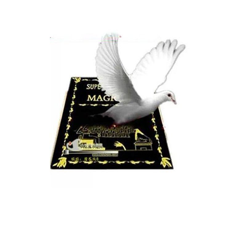 Grand Metamopho colombe de livre plate-forme tours de magie grande taille 28*20*3 cm professionnel apparaissant magie accessoires magicien