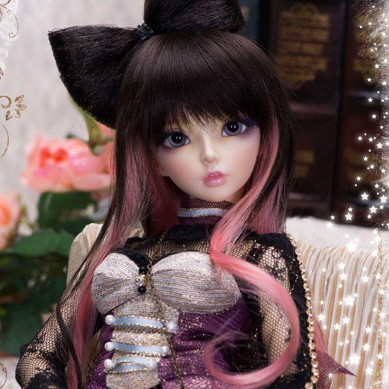 Oueneifs Волшебная страна MiniFee Celine 1/4 БЖД куклы СД модель Reborn для мальчиков и девочек глаза высокое качество игрушки макияж Магазин Смолы
