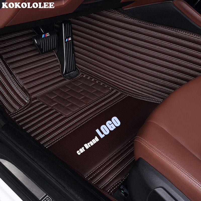 Kokololee custom car boden matte für BMW LOGO BMW F10 F11 F15 F16 F20 F25 F30 F34 E60 E70 E90 x1 X2 X3 X4 X5 X6 Z4 auto-styling