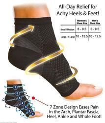 Frauen Ankle Heels Unterstützung Männer Compression Fuß Engel Sleeve Ferse Arch Support Pain Relief
