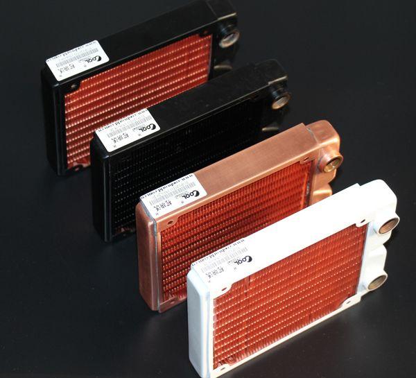 Ke Ruiwo 120 MM Haute qualité plein rouge cuivre refroidi à l'eau échangeur d'eau de refroidissement ordinateur ordinateur dissipateur de chaleur radiateur