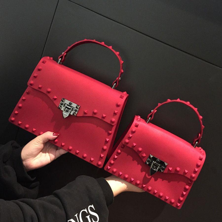 2018 Nouvelles Femmes Messenger Sacs De Luxe Sacs À Main Femmes Sacs Designer Gelée Sac D'épaule de Mode Sac Femmes PU Sacs À Main En Cuir