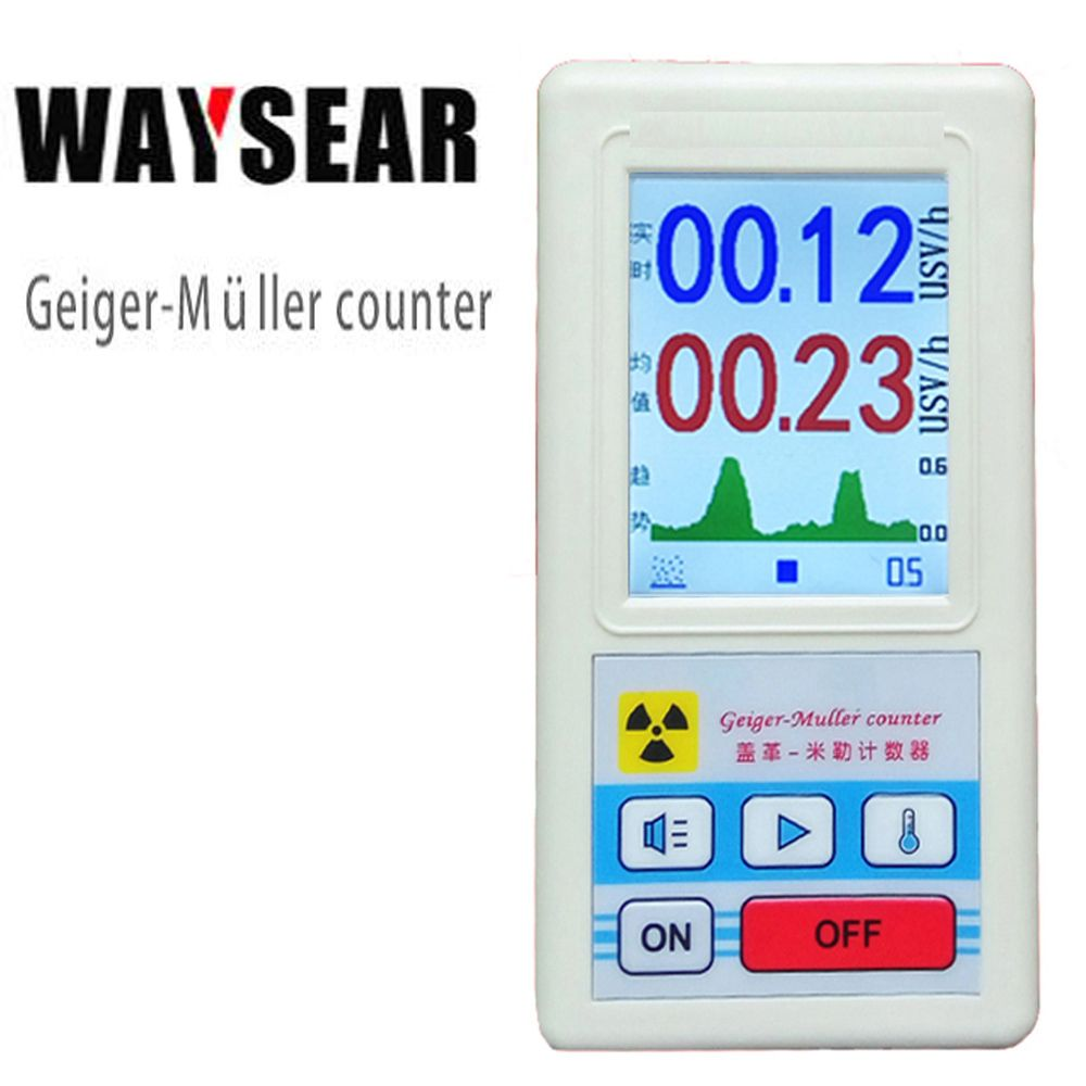 Geiger counter Personal dosimeters Marble detector nuclear radiation X Ray tester GM tube Nuclear radiation detector
