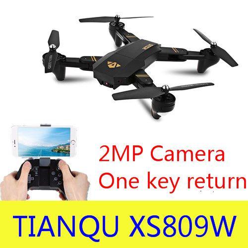 Original XS809W Mini Foldable Drone RC Selfie Drone with Wifi FPV HD Camera Altitude Hold & Headless Mode RC Quadcopter Drone
