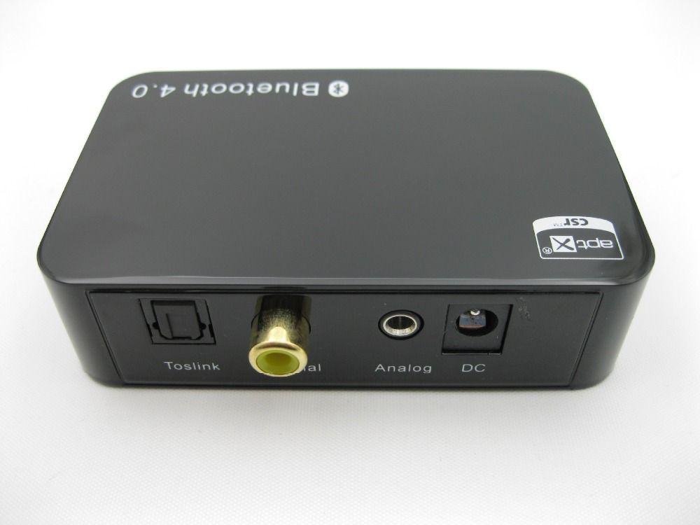 Apt-x récepteur Bluetooth sans fil adaptateur Bluetooth Audio récepteur de musique 3.5mm jackoptique sortie coaxiale haut-parleur de voiture BHAD01