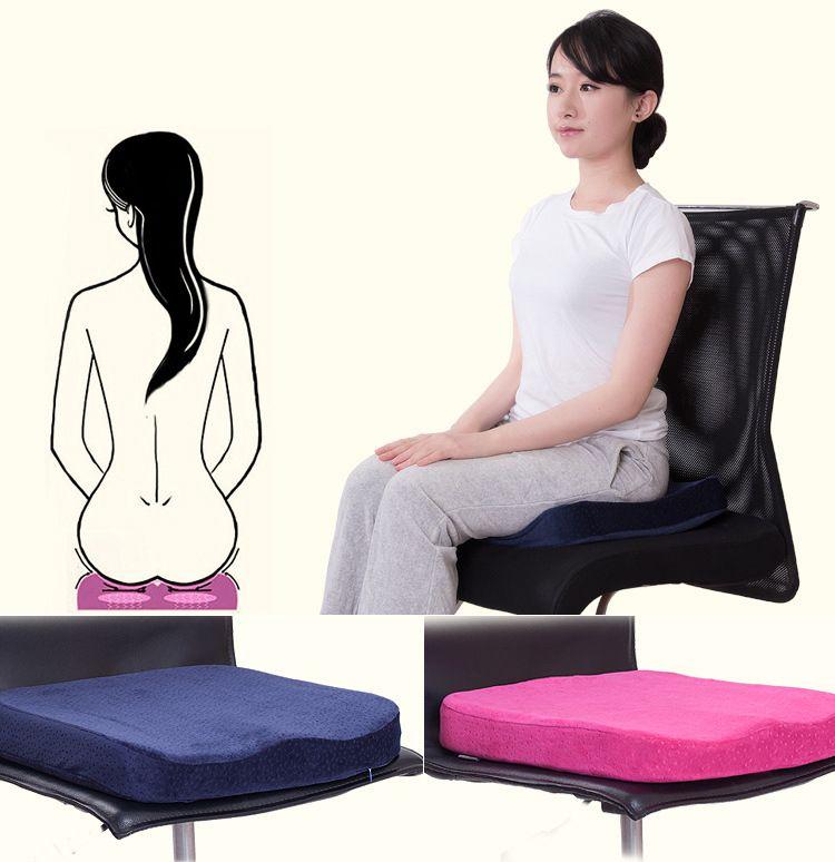 Копчик ортопедические пены памяти офисное кресло и автокресло Подушки для боли в спине и ишиас облегчение