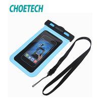 CHOETECH 30 м Водонепроницаемый чехол Универсальный чехол-портмоне для мобильного телефона чехол для легкой подводной съемки для iPhone 6 6S для samsung...