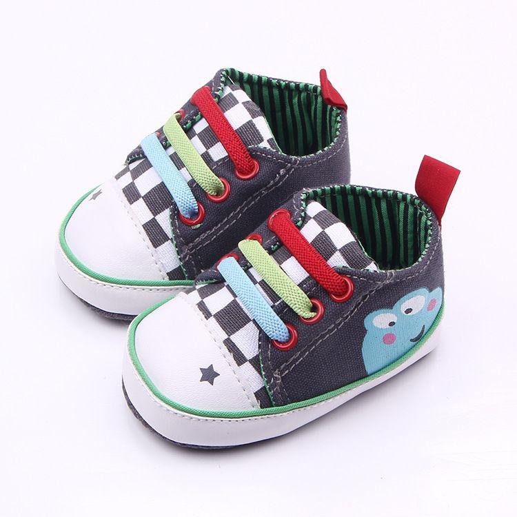 Recién Nacido Zapatos de bebé moda sneakers casual Sport Boy niño Zapatos primavera otoño los niños calzado