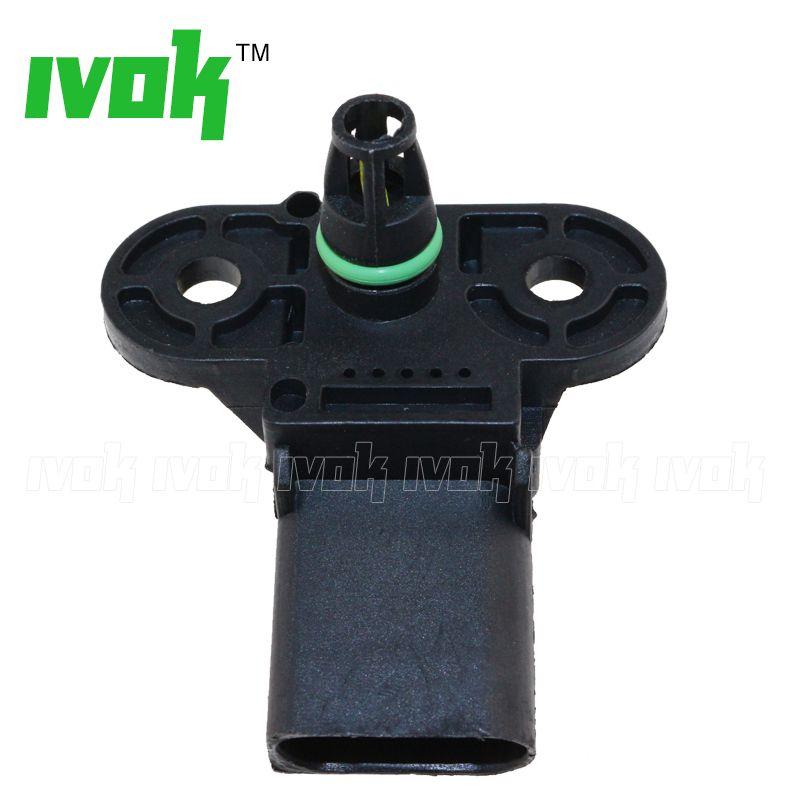 Brand New 1Bar MAP Sensor, Intake Air Pressure For Audi VW Skoda Seat 06B 906 051 0 261 230 031