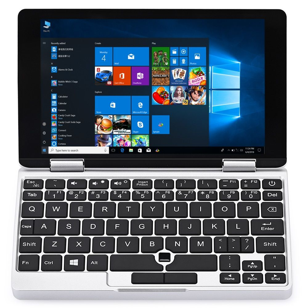 One Netbook One Mix Yoga Pocket Laptop Win10 Notebook 7.0'' Tablet PC Intel Atom X5-Z8350 Quad Core 8GB+128GB With Stylus Pen