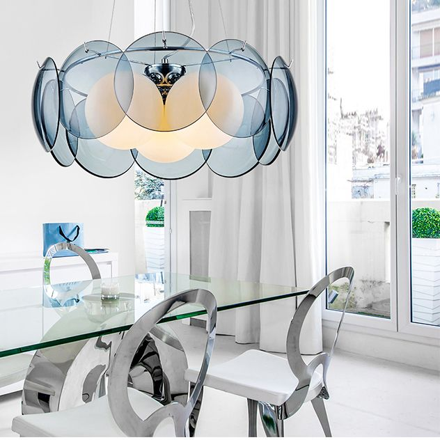 pendant lights dinning room pendant lamps modern minimalist restaurants lamp Luxury pendant lighting glass shades