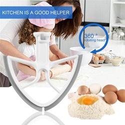 Goma batidor cuchilla para 5-Quart cocina ayuda tazón levante mezclador Baking Tool cocina mezclador accesorios con forma cuadrada dropshipping