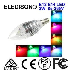 LED Night Light Dekorasi Mood Malam KTV Bar Pencahayaan Lampu E12 E14 Merah Hijau Biru Kuning Putih 85-265 V AC