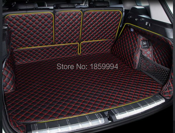 for 2016-2018 BMW X1 F48 rear tail car trunk mat durable boot carpets full coverage