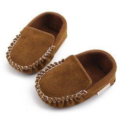 Zapatos de bebé recién nacido bebé mocasín PU cuero niñas Zapatos primeros caminantes Prewalkers para niños cuna zapatos del bebé