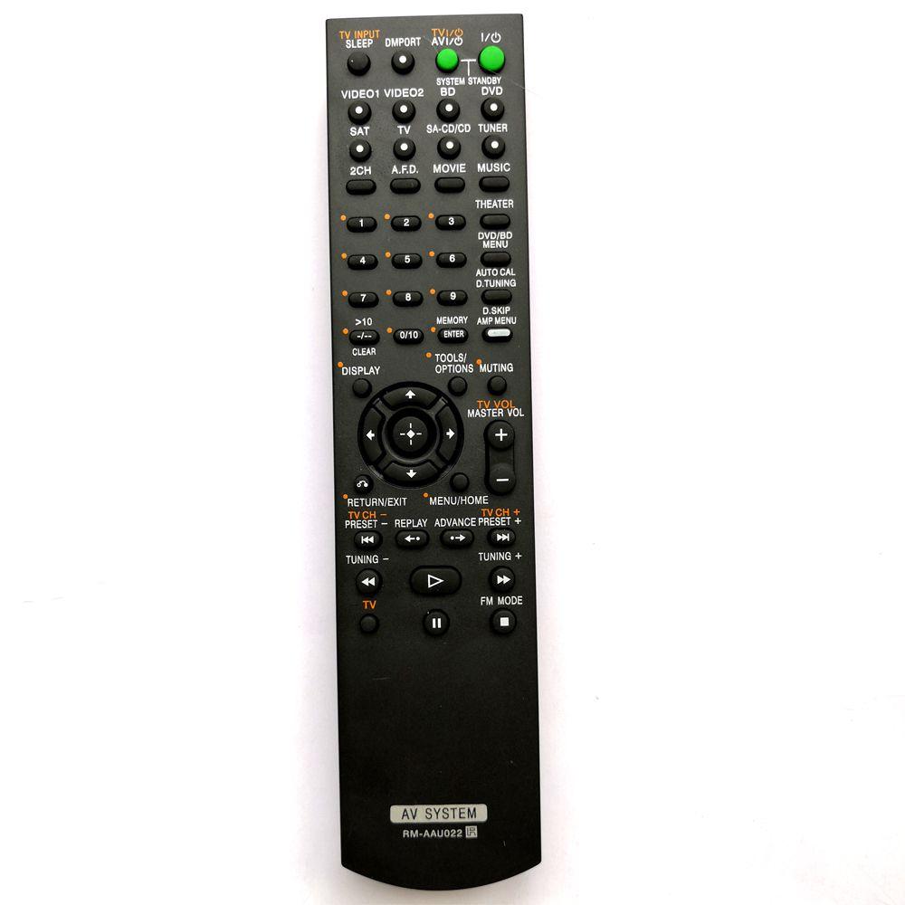 RM-AAU022 Nouvelle Télécommande de Remplacement Pour SONY AV Système Ajustement RM-AAU020 STR-KS2300 STR-DG520 RM-AAU019 STR-DG520B STR-DG710