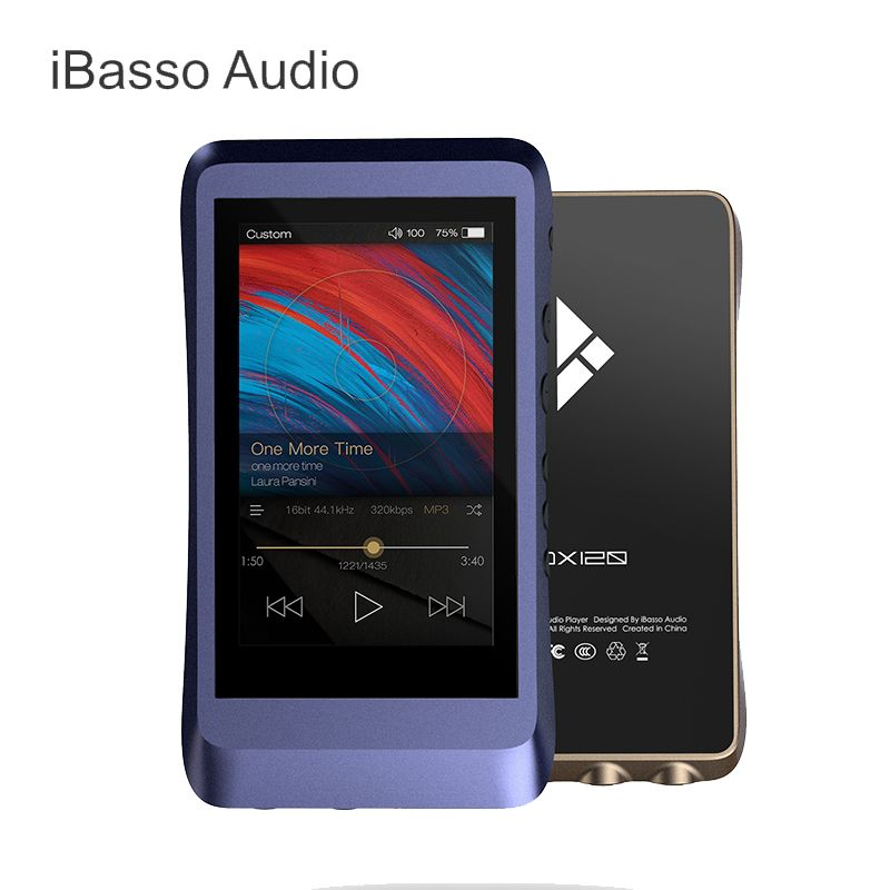 IBasso DX120 Portable MP3 AK4495 DSD USB DAC 2.5mm Balanced & 3.5mm & Coaxial Output HIFI Lossless HD Portable Music Player MP3