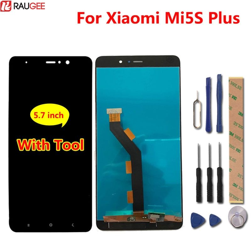 For Xiaomi Mi5S Plus 5.7 inch LCD Display + Touch Screen Digitizer Assembly Replacement Accessories For Xiaomi Mi5S Plus