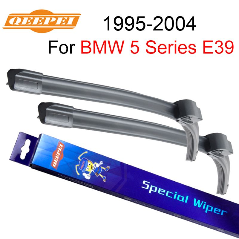QEEPEI Wipers Blade For BMW 5 Series E39 1995-2004 26''+22'' Car Accessories For Auto Rubber Windshield Windscreen Wiper CPZ103