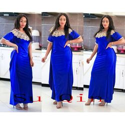 Africain Riche grand Élastique Partie Broderie Robes Pour Femmes Vente Chaude Mince Sexy Femmes