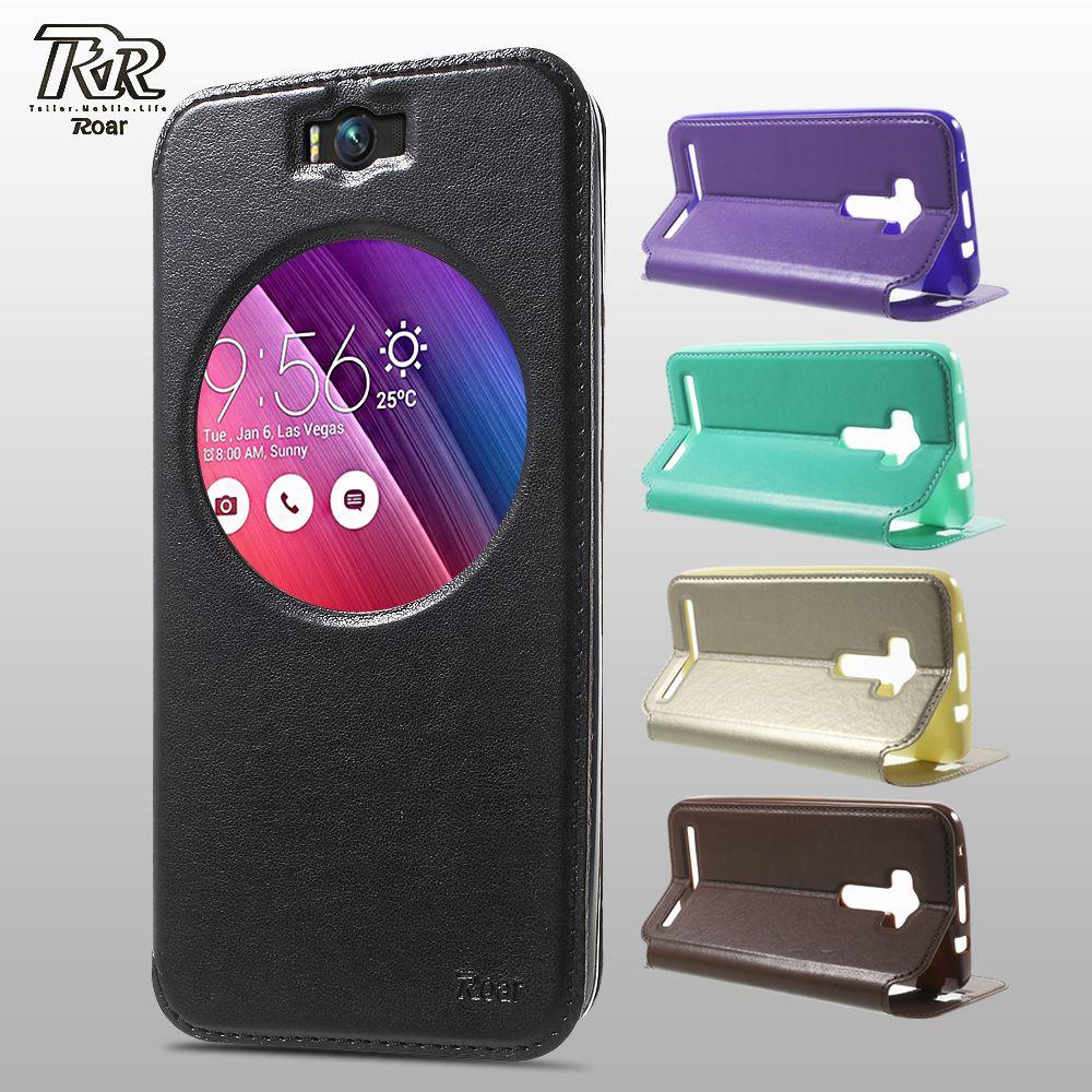 ROAR KOREA for Asus Zenfone Selfie ZD551KL Case Cover PU Leather View Case for Asus Zenfone Selfie ZD551KL Cover Shell