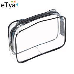 L'etya a Protection de L'environnement PVC Transparent Cosmétique Sac Femmes Voyage Imperméable À L'eau de Lavage de Toilette Sacs Maquillage Organisateur Cas