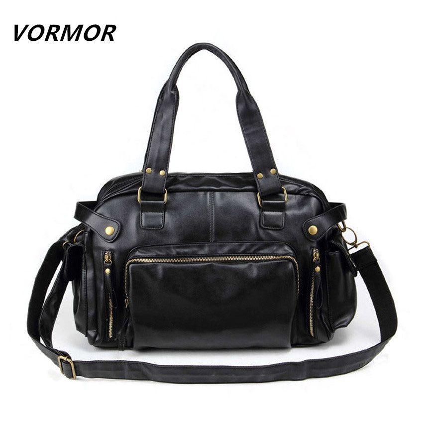 Neue Mode Reisetaschen herren Vintage Pu-leder Umhängetasche Männer Messenger Bags