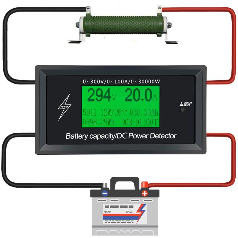 Power supply Current Meters digital DC voltmeter ammeter voltage meter Battery Testers capacity volt current wattmeter detector