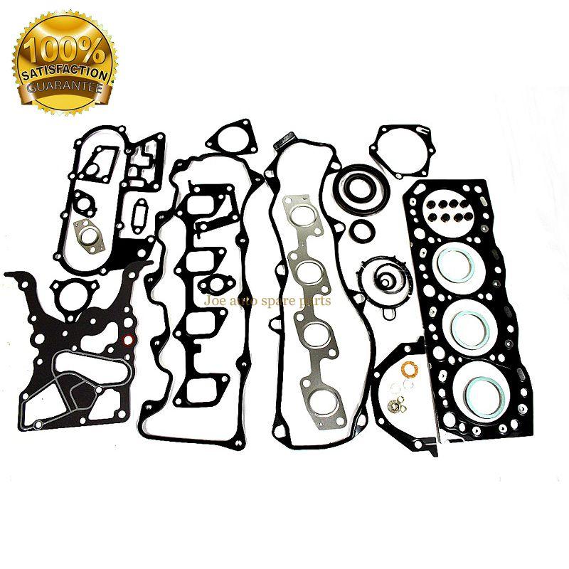 3L Full gasket set kit for Toyota Hilux/4Runner/Hiace/Land Cruiser/Dyna 2779cc 2.8D SOHC 8v 1988- 1995- 04111-54095 51009400