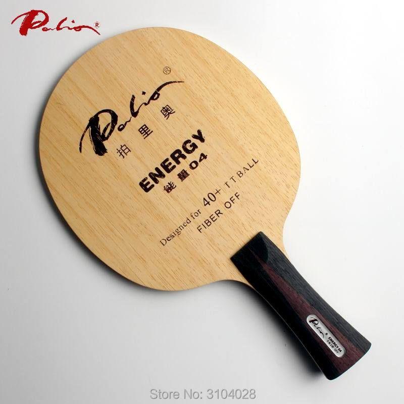 Palio officielles de l'énergie 04 tennis de table lame spécial pour 40 + nouveau matériel tennis de table raquette jeu boucle et rapide attaque 9ply