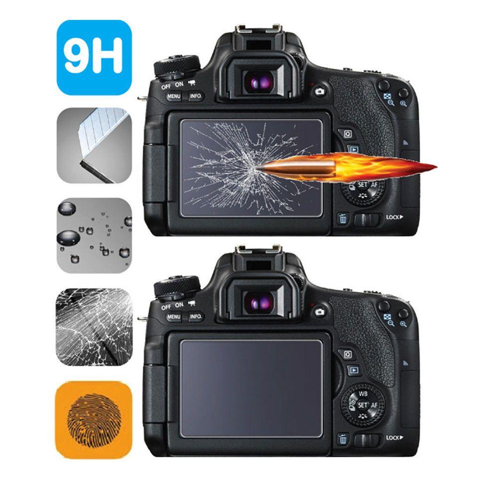2-Pack Deerekin 9H HD 2.5D Tempered Glass LCD Screen Protector For Sony A7II A77II A7SII A7RII