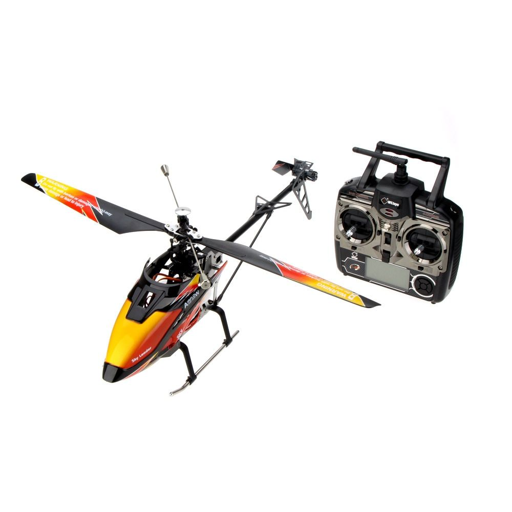Original V913 Brushless Upgrade Version 4Ch Helicopter RTF 70cm 2.4GHz Built-in Gyro Super Stable Flight Aircraft