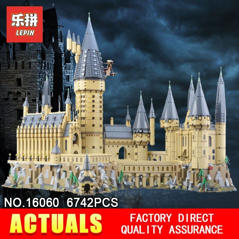 Lepin 16060 Hogwarts Castle Magic School Kompatibel Mit Die 71043 Pädagogisches Spielzeug Montiert Geburtstag Bausteine Ziegel