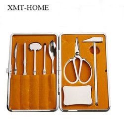 XMT-HOME kerang lobster Seafood kepiting picks cracker tang dapur aksesoris picknic BBQ kitchen gadget 1 set