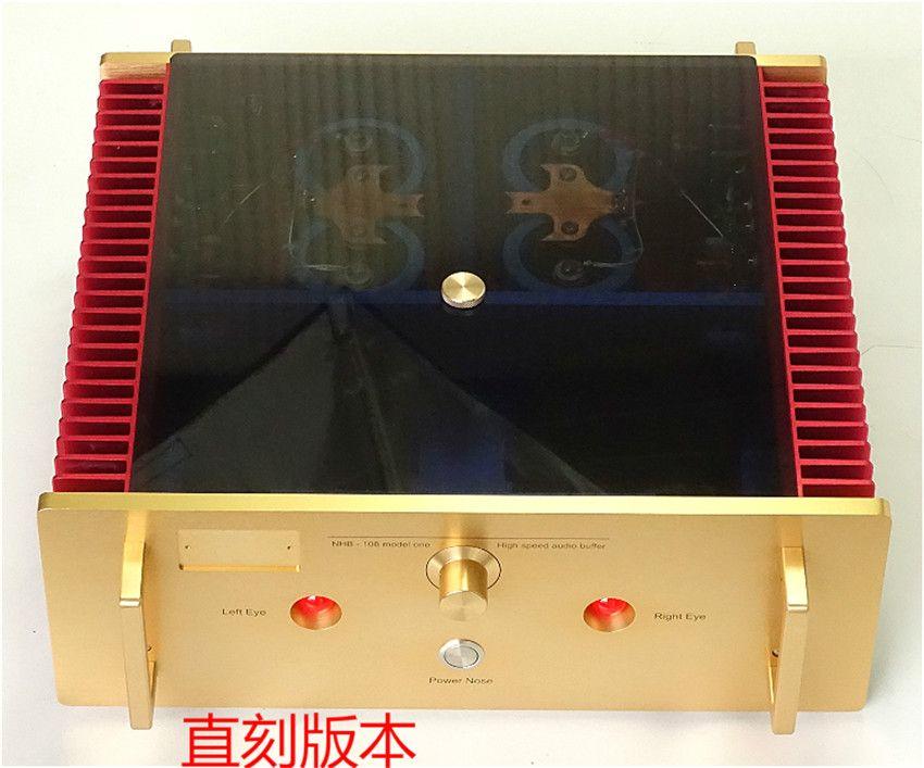 N-025 pas d'étude de commentaires négatifs/copie Dartzeel NHB108 amplificateur de puissance 140 W * 2 8ohm OFC transformateur de cuivre Super pur meilleur son