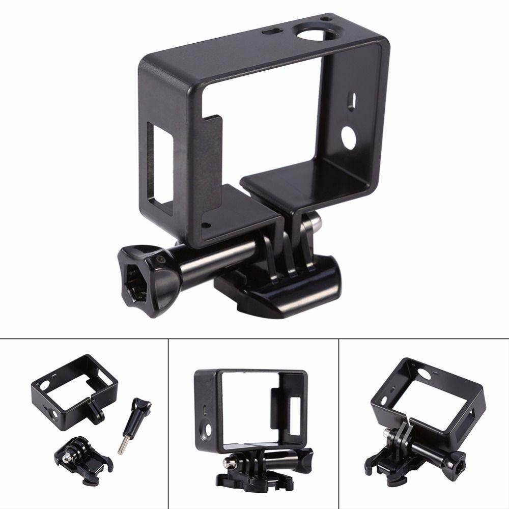 Kamera Zubehör Standard-schutzrahmen Gehäuse Fall + Grundhalterung Schraube Für Gopro Zubehör Für Gopro Hero/3/3 +/4 Kamera