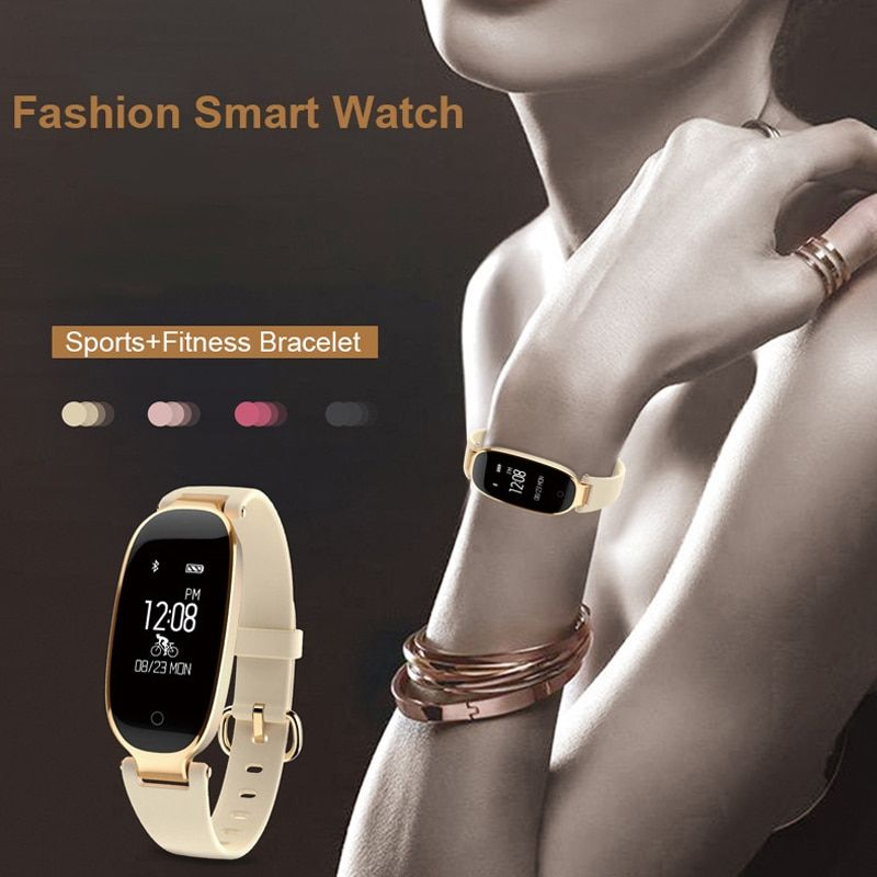S3 Smart Watch Women Bluetooth Waterproof Smart Bracelet Band Heart Rate Monitor Tracker Smartwatch For Android IOS reloj saat