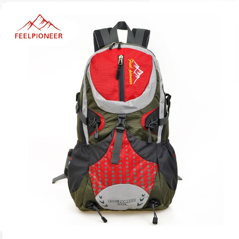 Outdoor sports hiking camping travel tactical backpack 100% nylon Men's backpack 30l double-shoulders bag