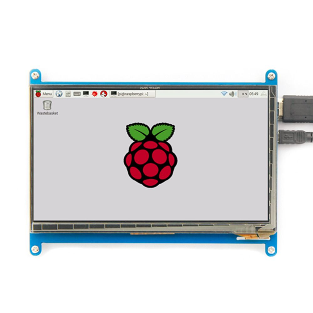 Rev2.1 Original 7 Inch HDMI LCD Screen Module capacitive touch for Raspberry Display Ultra Clear For Raspberry Pie 1024X600