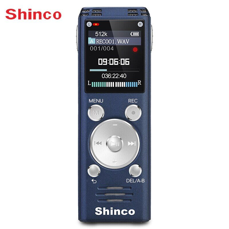 Shinco RV20 32G Verlustfreie Voice Recorder Ton Qualität Professionelle Remote Rauschunterdrückung Fern Rekord Radio funktion
