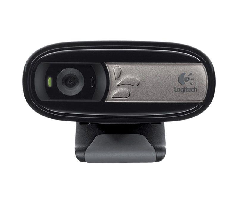 Logitech C170 Original Webcam mit Mikrofon USB Web Cam Kamera HD Plug-und-Play, für PC Notebook Laptop Tablet TV BOX