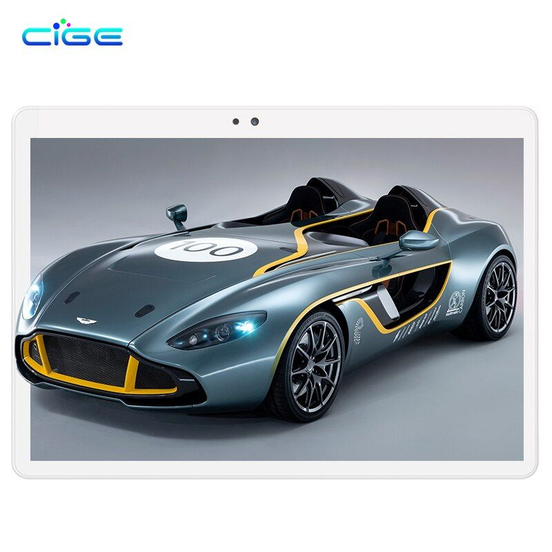 GEIC 10.1 Pouce Android 6 Tablet PC Tab Pad 4 GB RAM 64 GB ROM Octa Core Play Store Bluetooth 4G Appel Téléphonique Double SIM 10.1