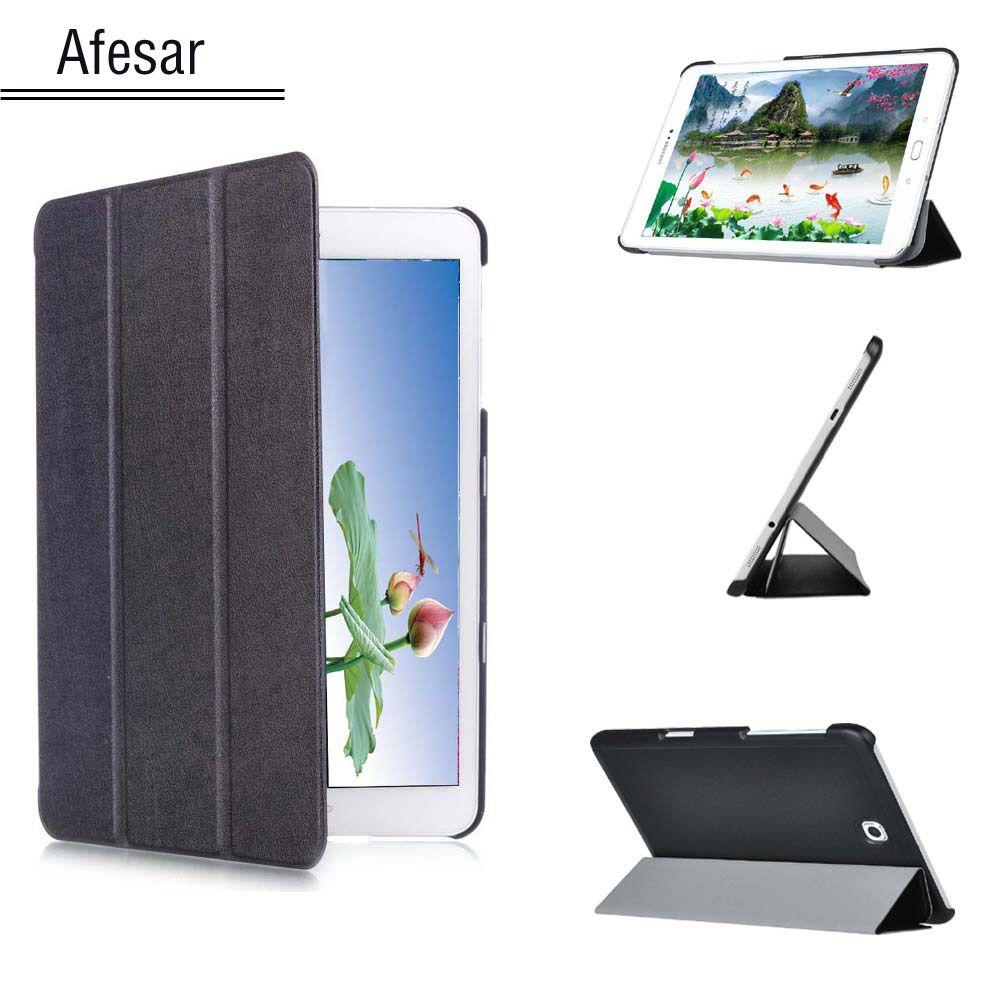 Tab S2 9.7 Cas couverture SM-T813 T819 Mince Couverture Intelligente De Caisse pour Samsung Galaxy Tab S2 9.7 SM-T810 T815 Tablet avec Auto sommeil/Réveil