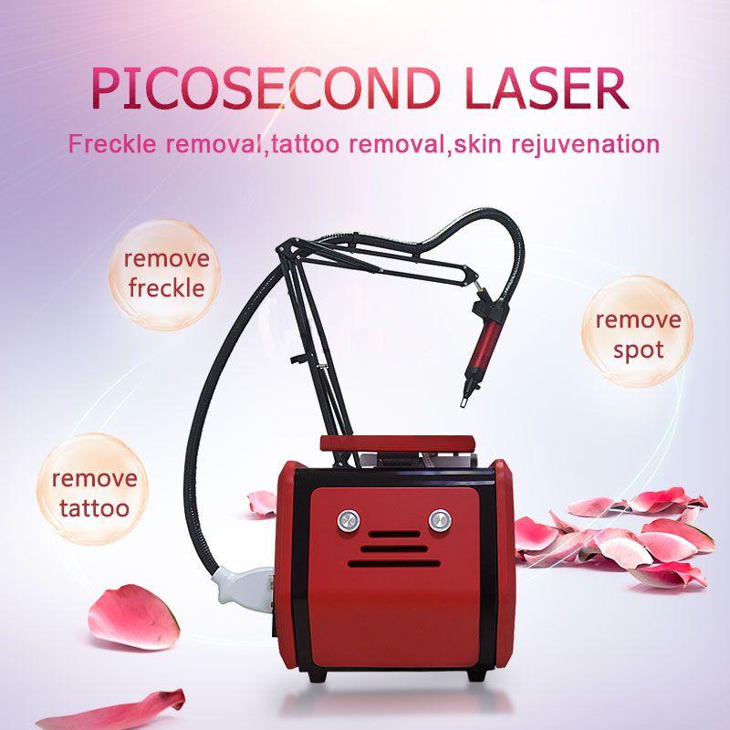 Laser Schönheit Maschine Für Tattoo Entfernung Tragbare Nd Yag Laser Pico Laser 755 1320 1064 532nm Pikosekunden Schönheit Maschine