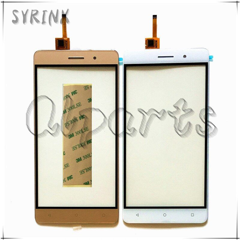 Syrinx 5.5 Avec Bande Mobile Téléphone Façade En Verre Écran Tactile Pour Bluboo Maya Écran Tactile Digitizer Remplacement Du Panneau de Touchpad