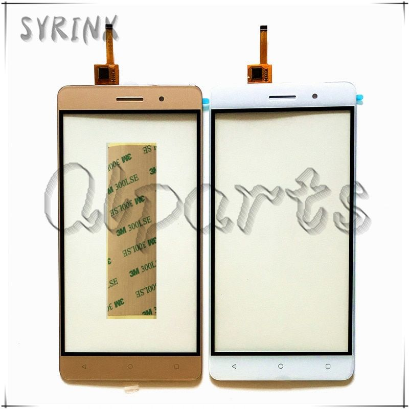 Syrinx Mobile Phone Front Glass Touchscreen For Bluboo Maya Touch Screen Digitizer Panel With Tape Replacement Free Shipping