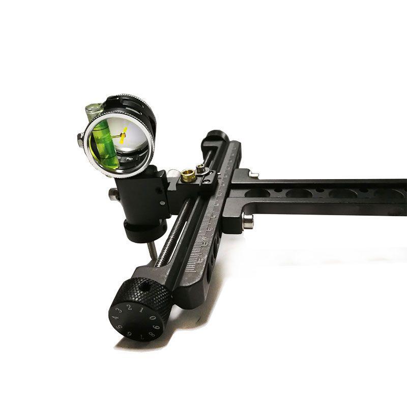 Archery 4x Compound Bow Sights Laser  0.059 Micro Adjust Illuminated Optical Fiber Micro Optic Sight flecha Hunting 1 Pins Acce