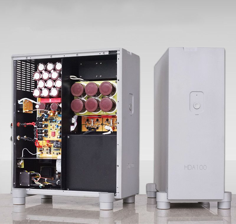 N-008 HDA100 HiFI Mono Power Amplifier Shock Absorber Design of Vertical Version 1000W*2