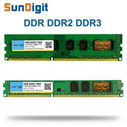 Sundigit ddr 1 2 3 DDR1 DDR2 DDR3/PC1 PC2 PC3 512 МБ 1 ГБ 2 ГБ 4 ГБ 8 ГБ 16 ГБ Настольный компьютер PC оперативной памяти 1600 мГц 800 мГц 400 мГц